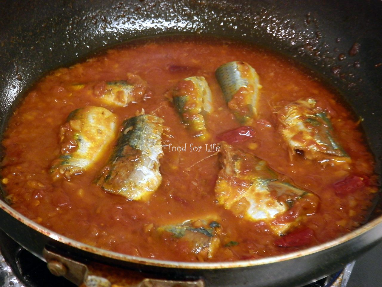 Food for life sardine in tomato sauce for Low sodium fish sauce