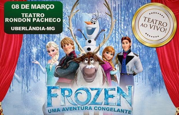 """Frozen - Uma Aventura Congelante"" - Uberlândia/MG"