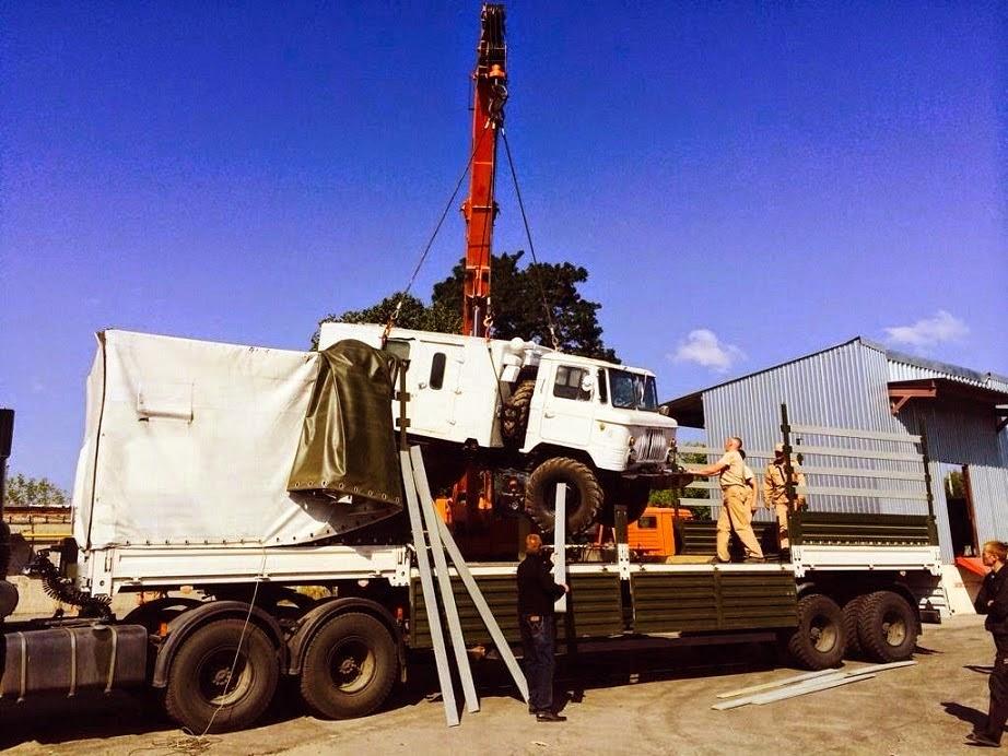 """Под видом """"гуманитарных конвоев"""" российские войска поставляют в Донбасс подкрепления, боеприпасы и военную технику"""