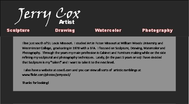 Jerry Cox Artist