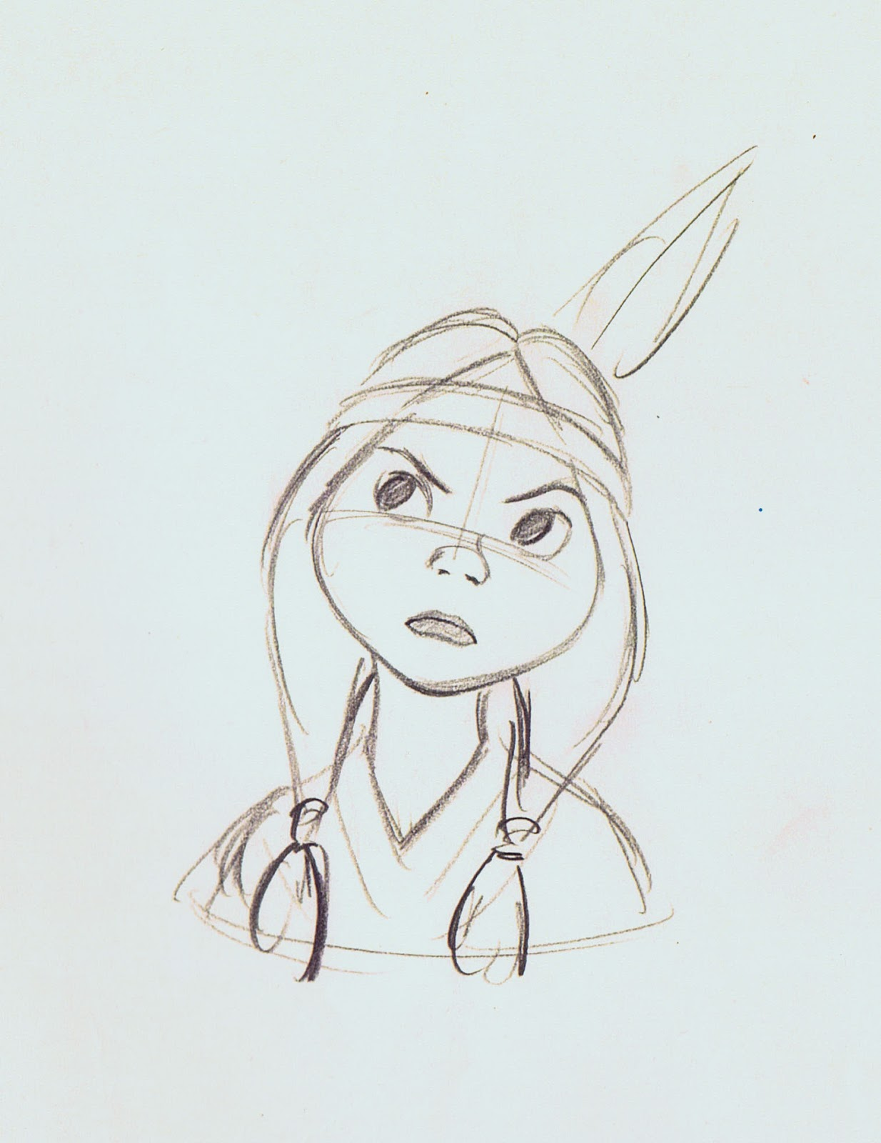 princess tiger lily coloring pages - photo#29