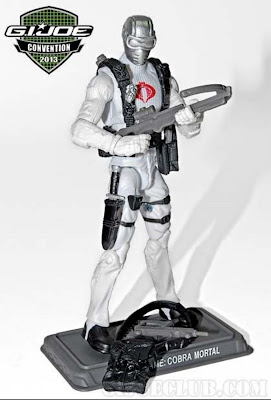 GI Joe 2013 Convention Exclusive Night Force Boxed Set - Cobra Mortal figure