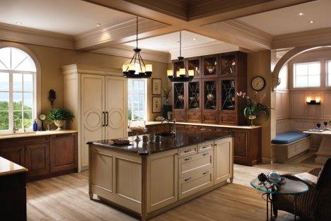 konyhát gyakran étkezőpult vagy konyhasziget választja el a ...