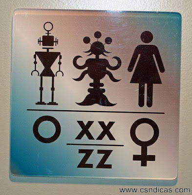 Engraçadas Placas de Banheiros pelo Mundo
