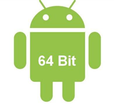 Secondo alcuni rumors google sta sviluppando una versione con il supporto alla codifica a 64 Bit per il suo sistema operativo mobile