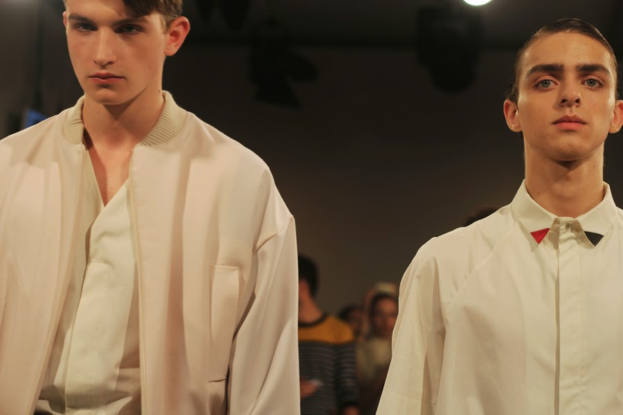 models bei ivan man mercedes benz fashion week