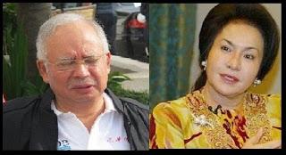 Kontol Najib digenggam rosmah