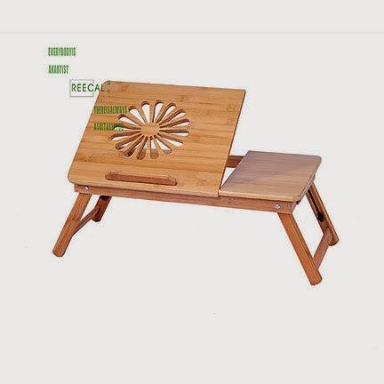 Tavolino in legno supporto base porta pc notebook portatile pieghevole per letto ebay - Porta pc da letto ...