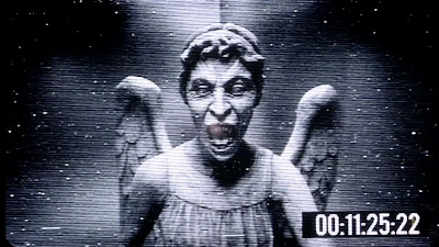 The Weeping Angel, coming out of a television screen