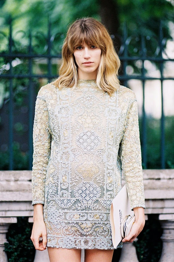 Vanessa Jackman: Paris Couture Fashion Week AW 2013.Alina