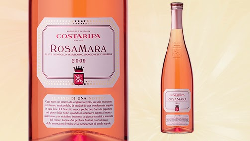 etichette grafica semantica rosato marketing branding storytelling