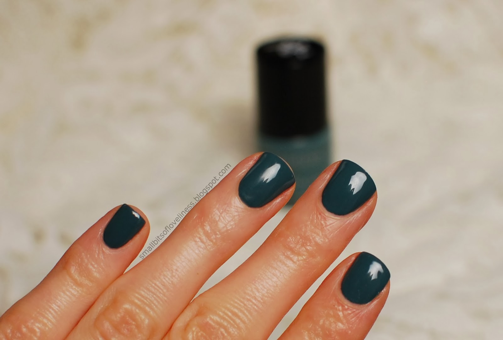 Benecos Pepper Green Nail polish