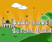 ebook Dzikir dan Do'a Setelah Sholat, zikir dan sholat