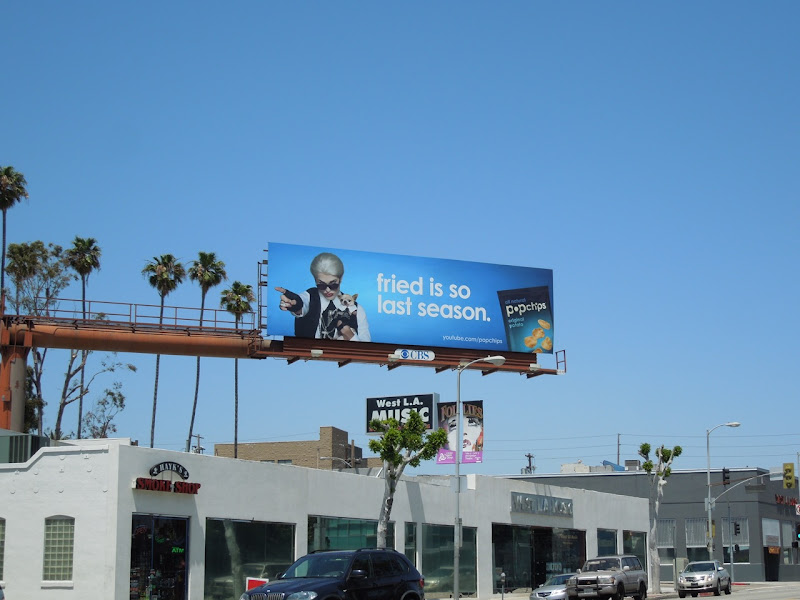 Darl Popchips billboard