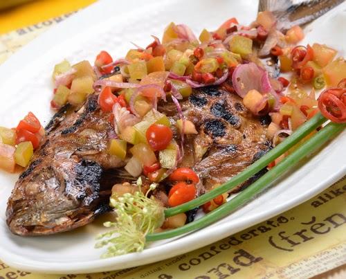Resep Makanan Ikan Bakar Sambal Dabu-Dabu