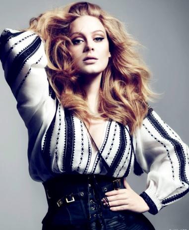 Adele mas delgada o flaca