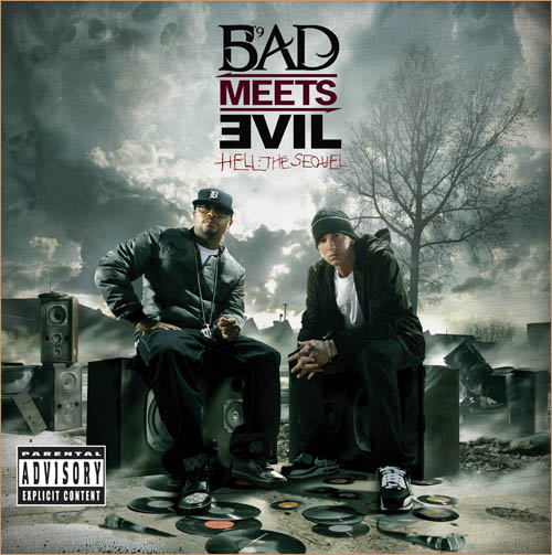bad meets evil ep cover Eminem and Royce Speak on Odd Future   MTV Interview (Video)