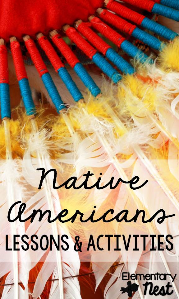 Lesson Ideas For Native Americans Second Grade Nest