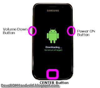 Step 2: Odin Flashing instruction to Install I9001XXKQ1 Android 2.3.6 Gingerbread Firmware Update on Samsung Galaxy S Plus I9001