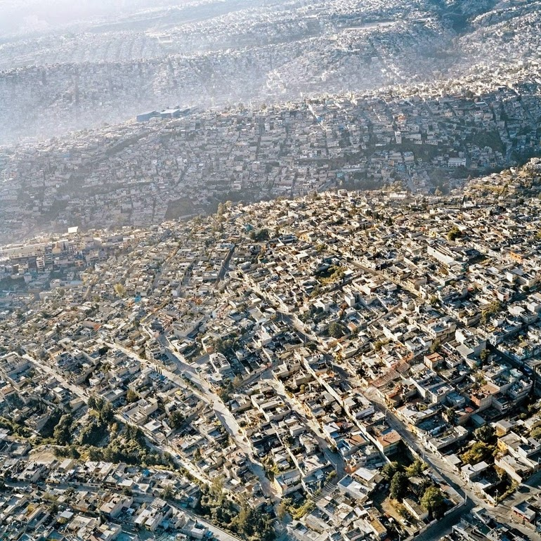 aerial photography - Mexico City