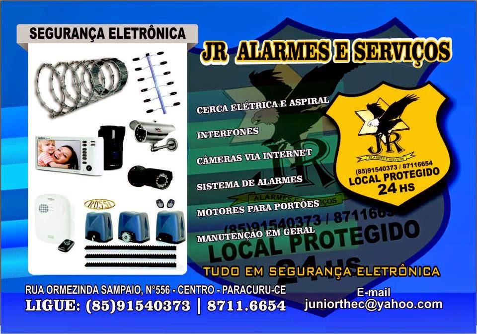JR ALARMES E SERVIÇOS