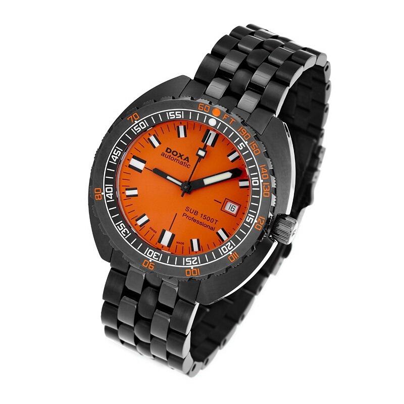 Watch freeks orange face diver - Orange dive watch ...