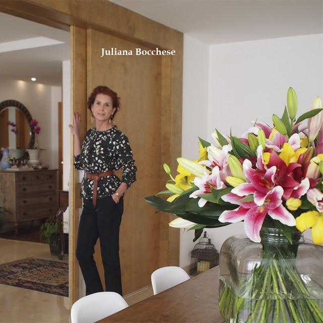 A casa e o estilo de Juliana Bocchese