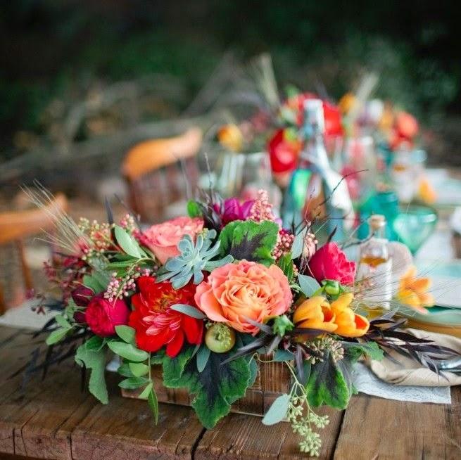 kwiaty na stol