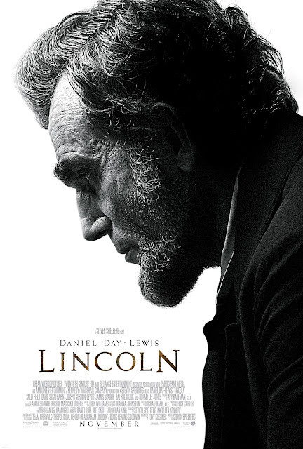 The poster for Spielberg's Lincoln.