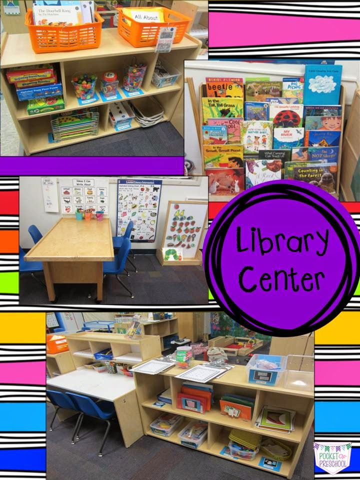 Classroom Library Ideas Kindergarten ~ My classroom pocket of preschool