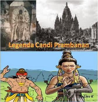 Cerita Legenda Candi Prambanan dan Terjemahan Inggris