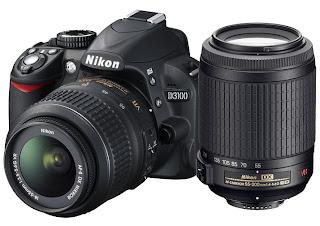 Nikon d3100 con obiettivo superzoom