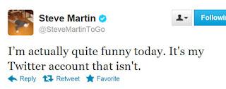 funny steve martin twitter
