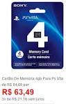Cartão De Memória 4gb Ps Vita