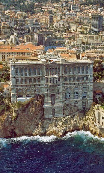 Grimaldi Palace in Monte Carlo, Monaco