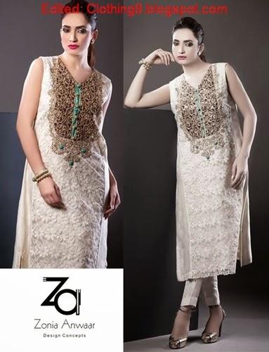 Zonia Anwaar Exquisite Formal Wear 2015