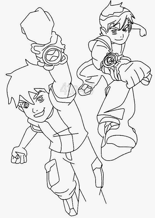 kids ben 10 coloring pages free coloring sheet new coloring pages