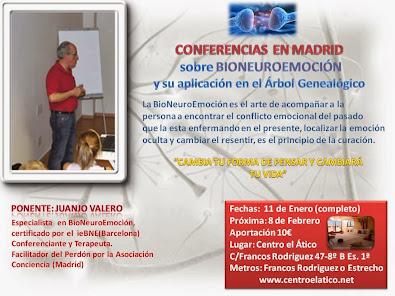 Conferencia en Madrid 11 Enero 2014