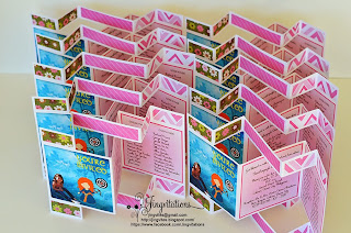 brave princess_merida birthday invitations