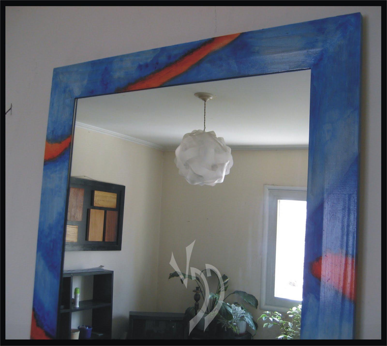 Vddise o interior espejos con marco pintado - Espejos con marco ...