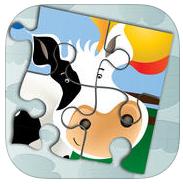 Animales en puzzle