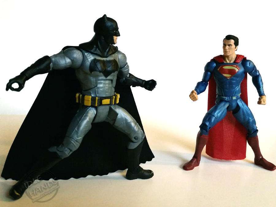 SDCC 2015 Mattels Exclusive Batman V Superman Dawn Of Justice Figure Set
