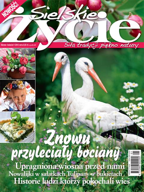 Wianek Violet i tendom.pl w najnowszym numerze Sielskiego Życia