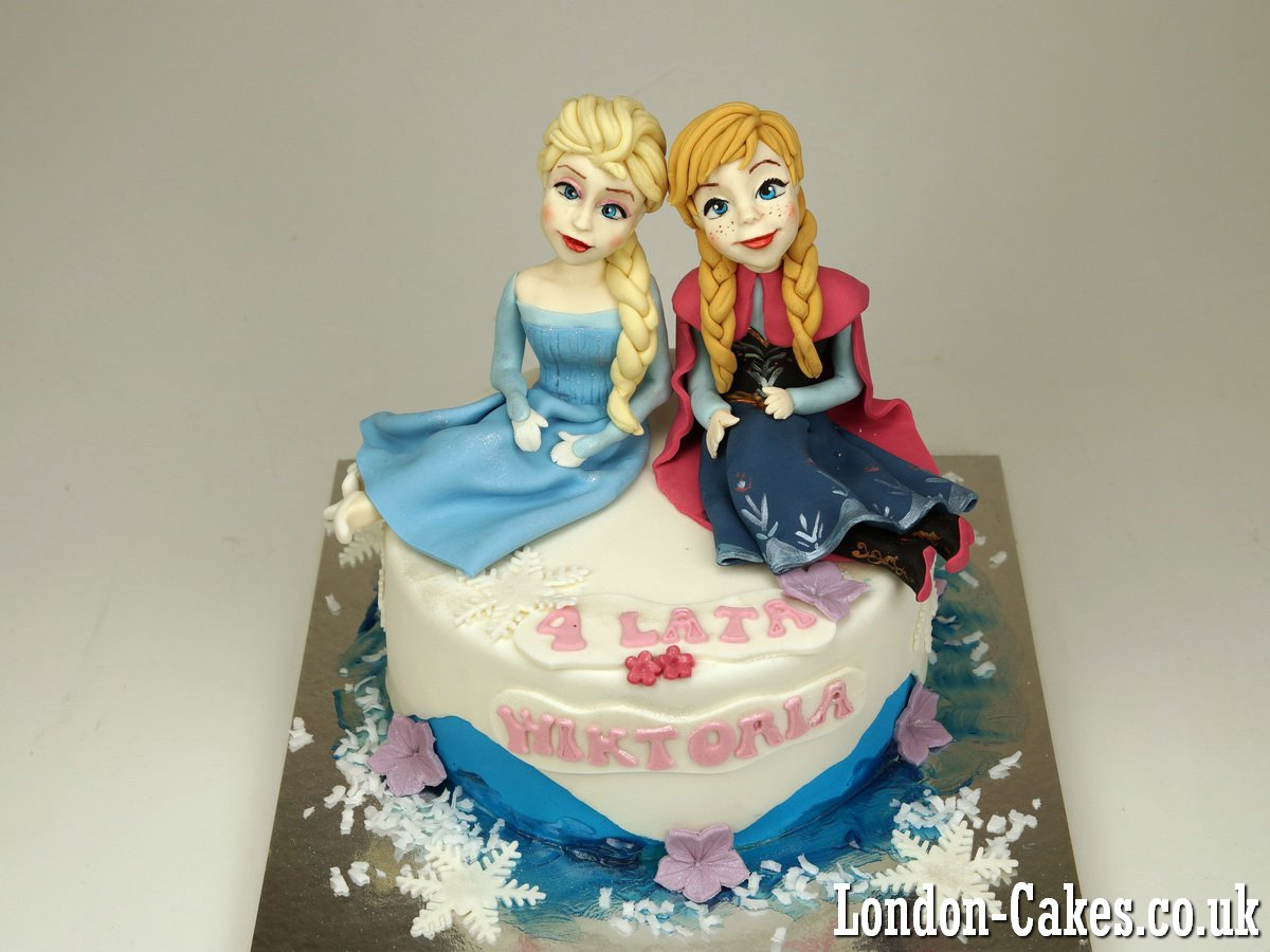 Frozen Cakes in London: Frozen Birthday Cakes in London