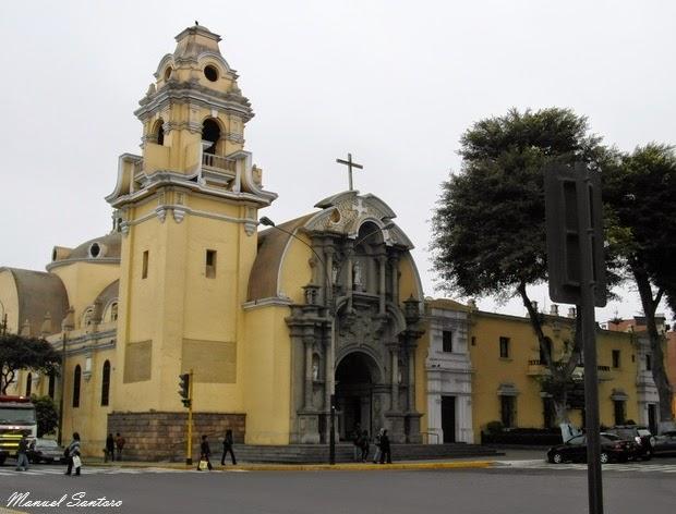 Lima, Barranco. Iglesia Santisima Cruz