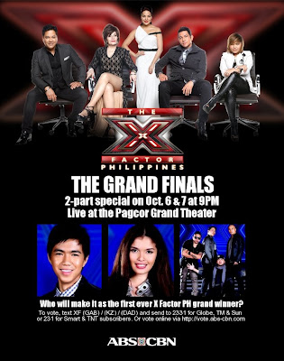 The X Factor Philippines Grand Finals Performance Night (October 6)
