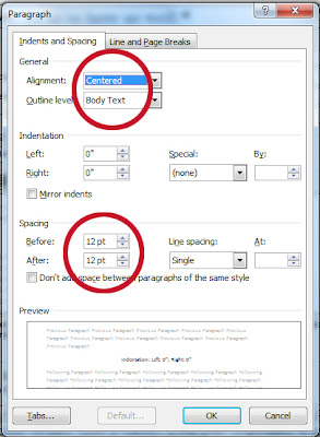 How To Format A Word Document For Uploading To Amazon: Word Styles