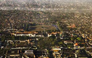 Pusat Kota Jogja dari Udara