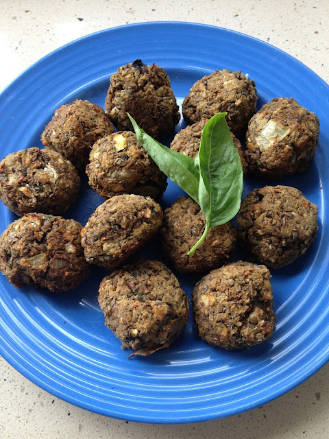 Vegan and vegetarian lentil   meatball recipe
