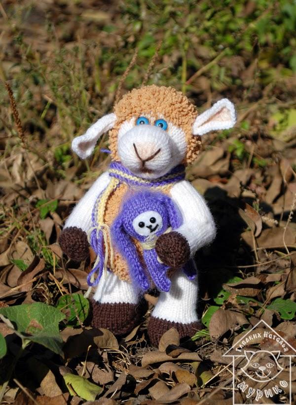 овечка, кукла, игрушки, подарок, новый год 2015